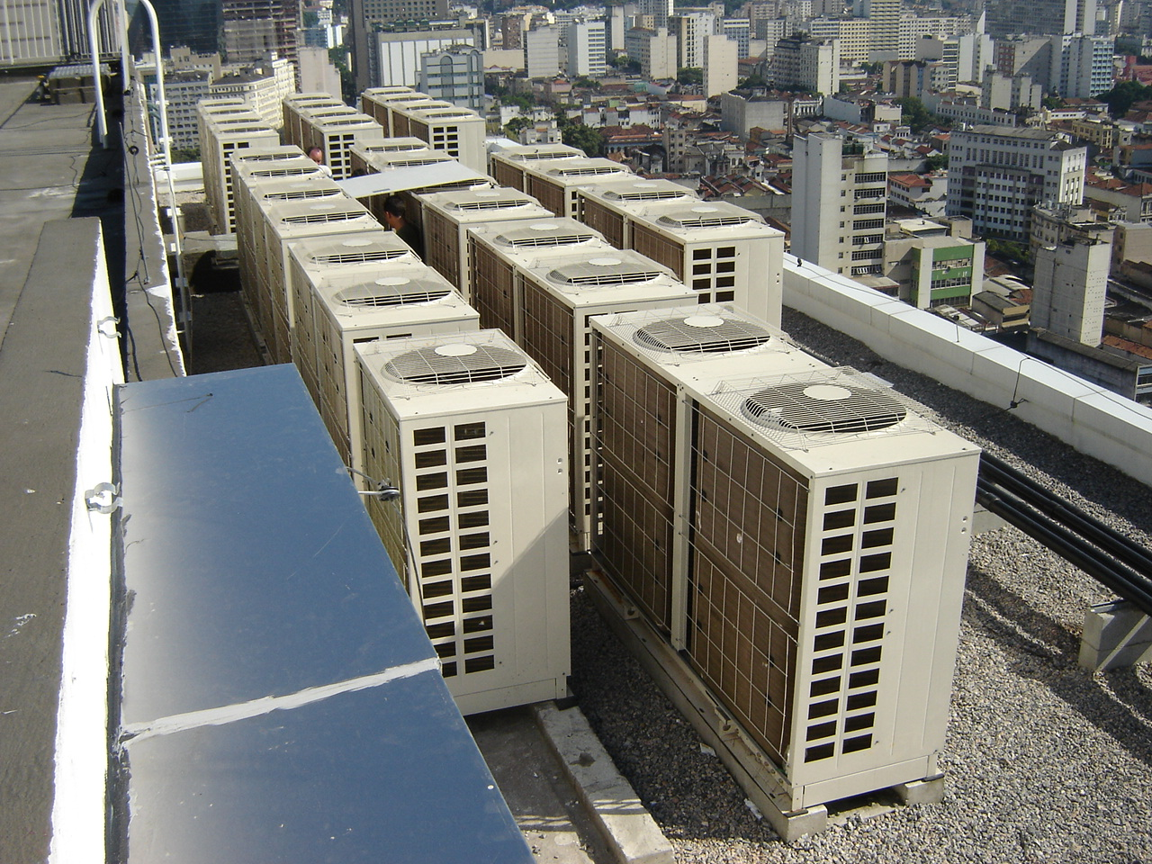 Variable Refrigerant Flow Technology In Use In Europe